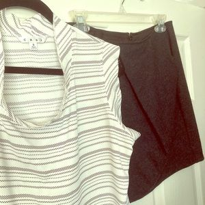 Ca bi skirt and cabi top - small selling outfits